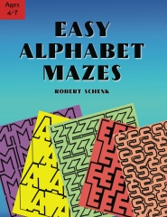 Easy Alphabet Mazes