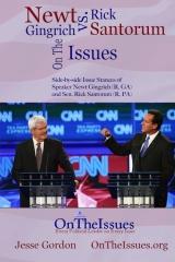 Rick Santorum vs. Newt Gingrich On The Issues