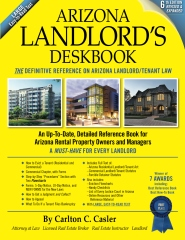 Arizona Landlord's Deskbook (6th Edition), paperback