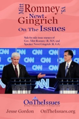 Mitt Romney vs. Newt Gingrich On the Issues