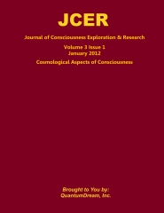 Journal of Consciousness Exploration & Research Volume 3 Issue 1