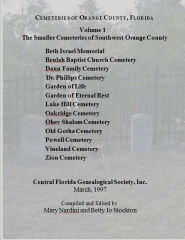 Cemeteries Of Orange County, Florida