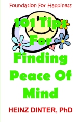 101 Tips For Finding Peace Of Mind