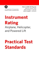 Instrument Rating Practical Test Standards FAA-S-8081-4E
