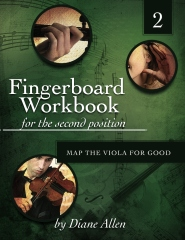 Fingerboard Workbook for the Second Position Map the Viola for Good