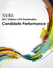 2011 Uniform CPA Examination: Candidate Performance