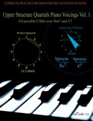 Upper Structure Quartals Piano Voicings Vol. 1