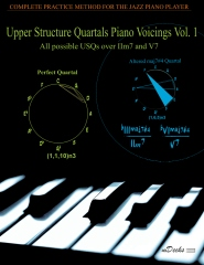 Upper Structure Quartals Piano Voicings Vol. 1