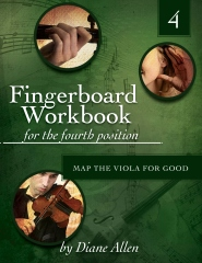 Fingerboard Workbook for the Fourth Position Map the Viola for Good