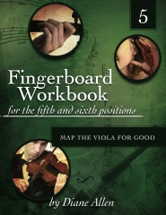 Fingerboard Workbook for the Fifth and Sixth Positions Map the Viola for Good