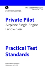 Private Pilot Airplane Practical Test Standards FAA-S-8081-14B Single Engine