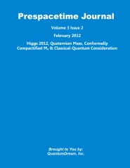 Prespacetime Journal Volume 3 Issue 2