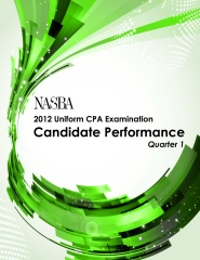 2012  Q-1 Uniform CPA Examination: Candidate Performance