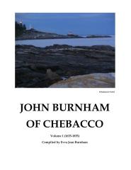 John Burnham of Chebacco Vol 1