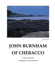 John Burnham of Chebacco Volume 2