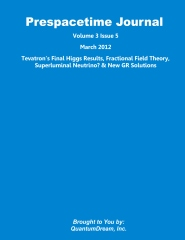 Prespacetime Journal Volume 3 Issue 5