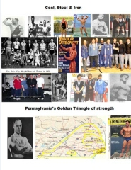 Coal, Steel & Iron. Pennsylvania's Golden Triangle of  Strength