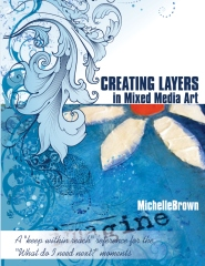 Creating Layers in Mixed Media Art