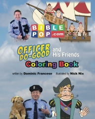 Officer Do-Good and His Friends Coloring Book