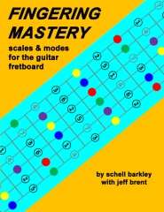 Fingering Mastery - scales & modes for the guitar fretboard