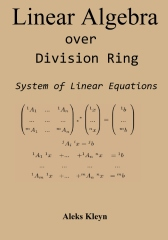 Linear Algebra over Division Ring