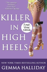 Killer in High Heels (Large Print Edition)