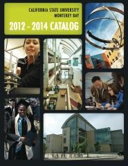 California State University, Monterey Bay Catalog 2012-2014
