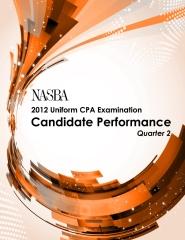 2012 Q-2 Uniform CPA Examination: Candidate Performance