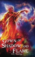 Gown of Shadow and Flame