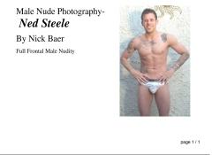 Male Nude Photography- Ned Steele