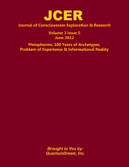 Journal of Consciousness Exploration & Research Volume 3 Issue 5