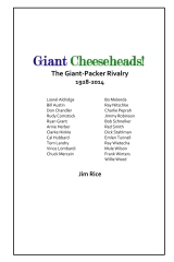 Giant Cheeseheads!