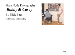 Male Nude Photography- Bobby & Casey