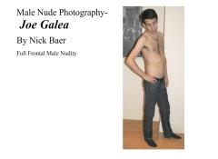 Male Nude Photography- Joe Galea