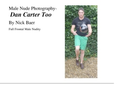 Male Nude Photography- Dan Carter Too