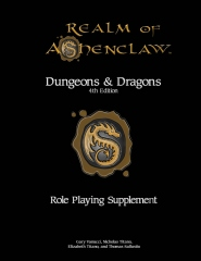 Realm of Ashenclaw 4e D&D RPG Supplement