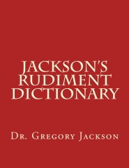 Jackson's Rudiment Dictionary