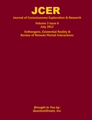 Journal of Consciousness Exploration & Research Volume 3 Issue 6