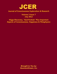 Journal of Consciousness Exploration & Research Volume 3 Issue 7