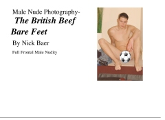 Male Nude Photography- The British Beef Bare Feet