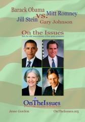 Obama vs. Romney vs. Stein vs. Johnson On the Issues
