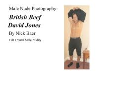 Male Nude Photography- British Beef David Jones