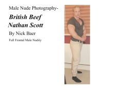 Male Nude Photography- British Beef Nathan Scott