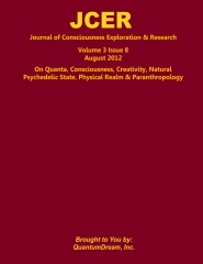 Journal of Consciousness Exploration & Research Volume 3 Issue 8