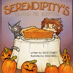 Serendipity's Pumpkin Pie Surprise