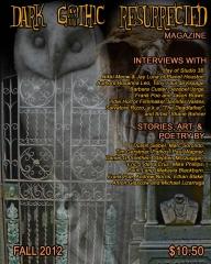 Dark Gothic Resurrected Magazine October 2012