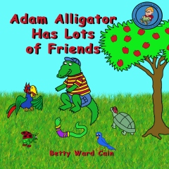 Adam Alligator Has Lots of Friends