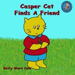 Casper Cat Finds A Friend