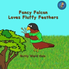 Fancy Falcon Loves Fluffy Feathers