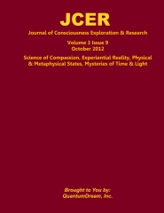 Journal of Consciousness Exploration & Research Volume 3 Issue 9